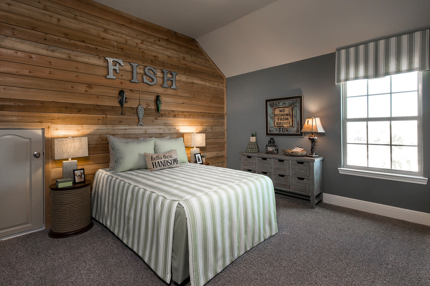 Secondary Bedroom - The Whitney (5960 Plan)