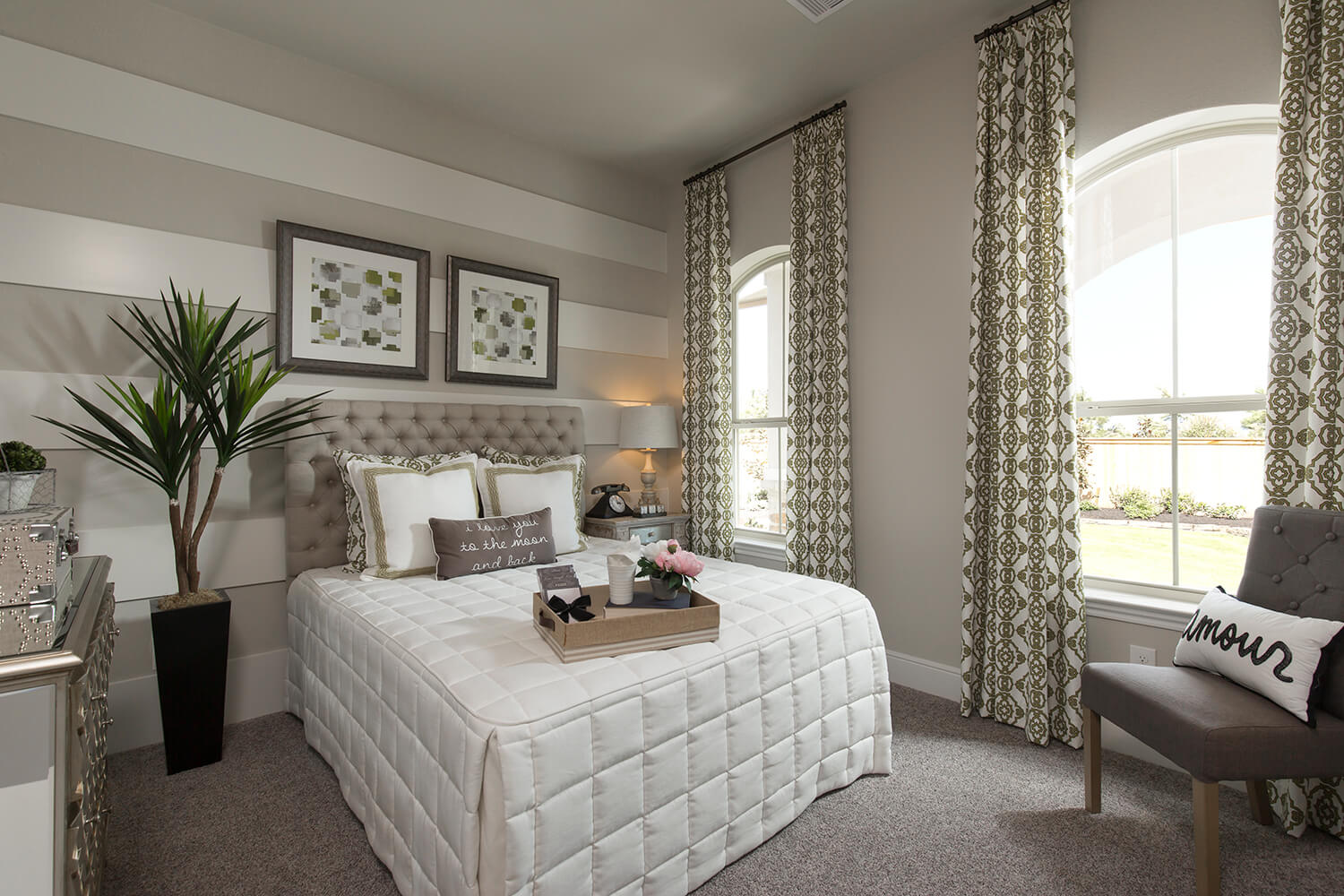 Guest Room - The Whitney (5960 Plan)