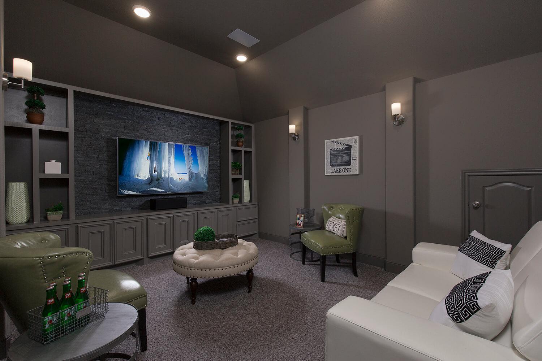 Media Room - The Whitney (5960 Plan)