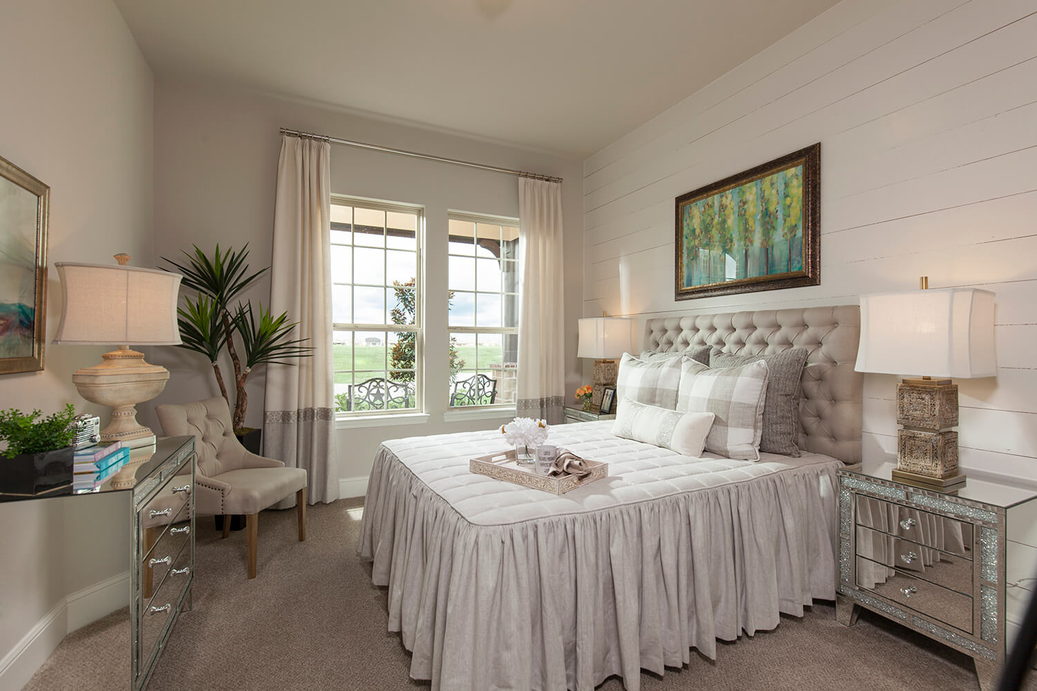 Guest Room - The Tomball (6876 Plan)