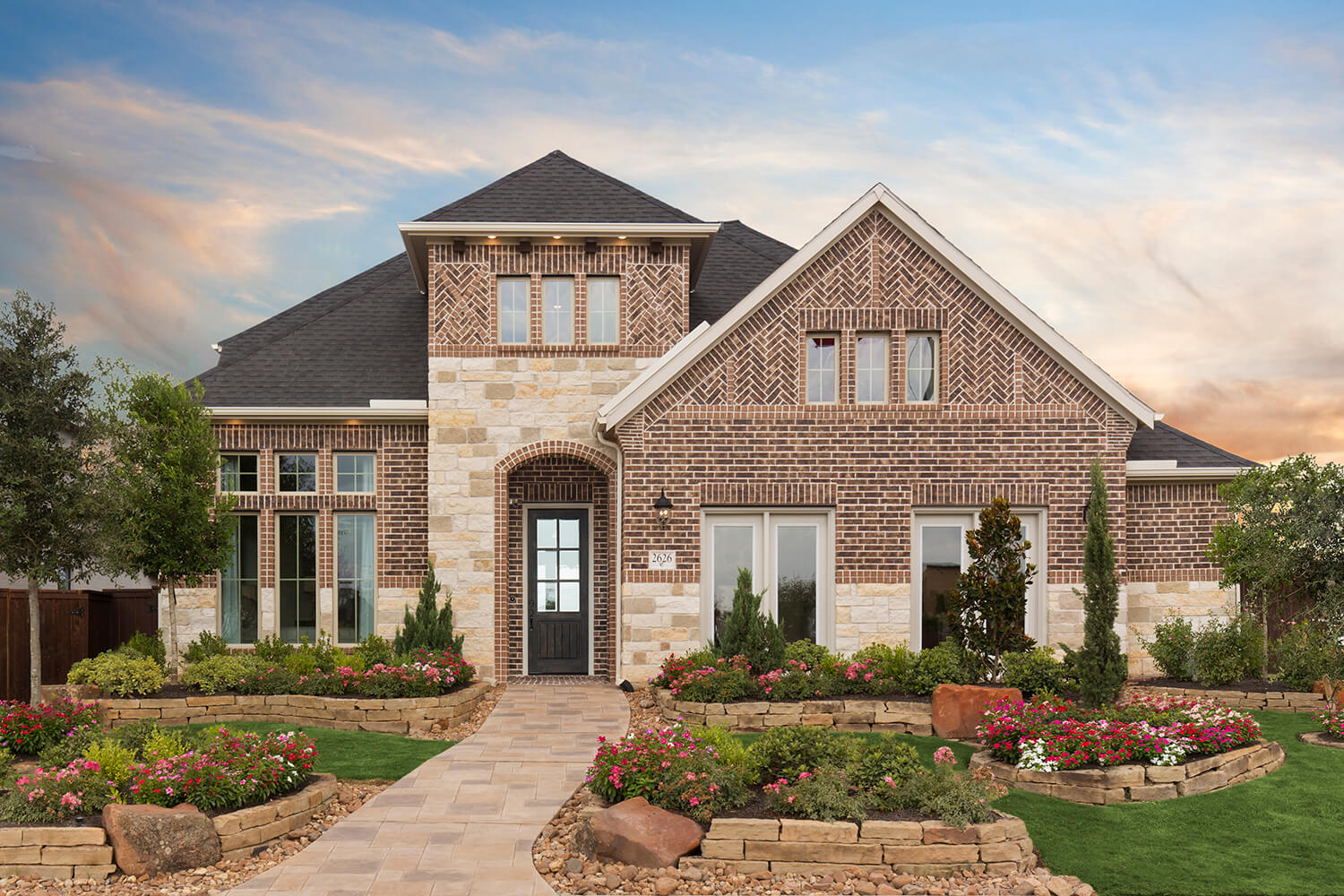 Elevation - The Ingleside (5402 Plan)