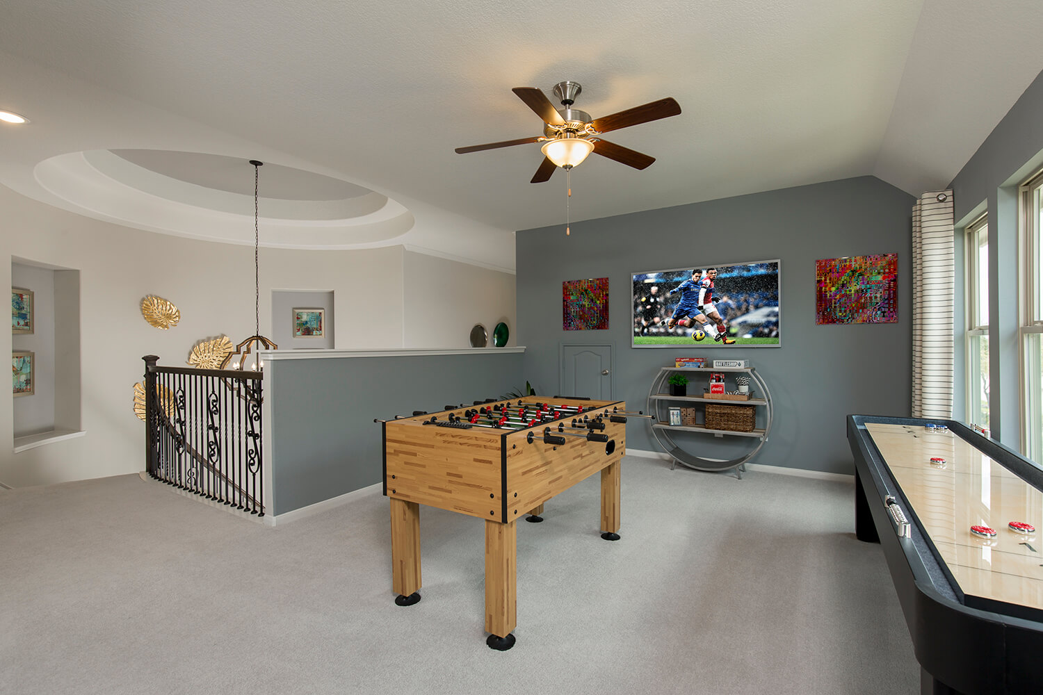 Game Room - The Ingleside (5402 Plan)