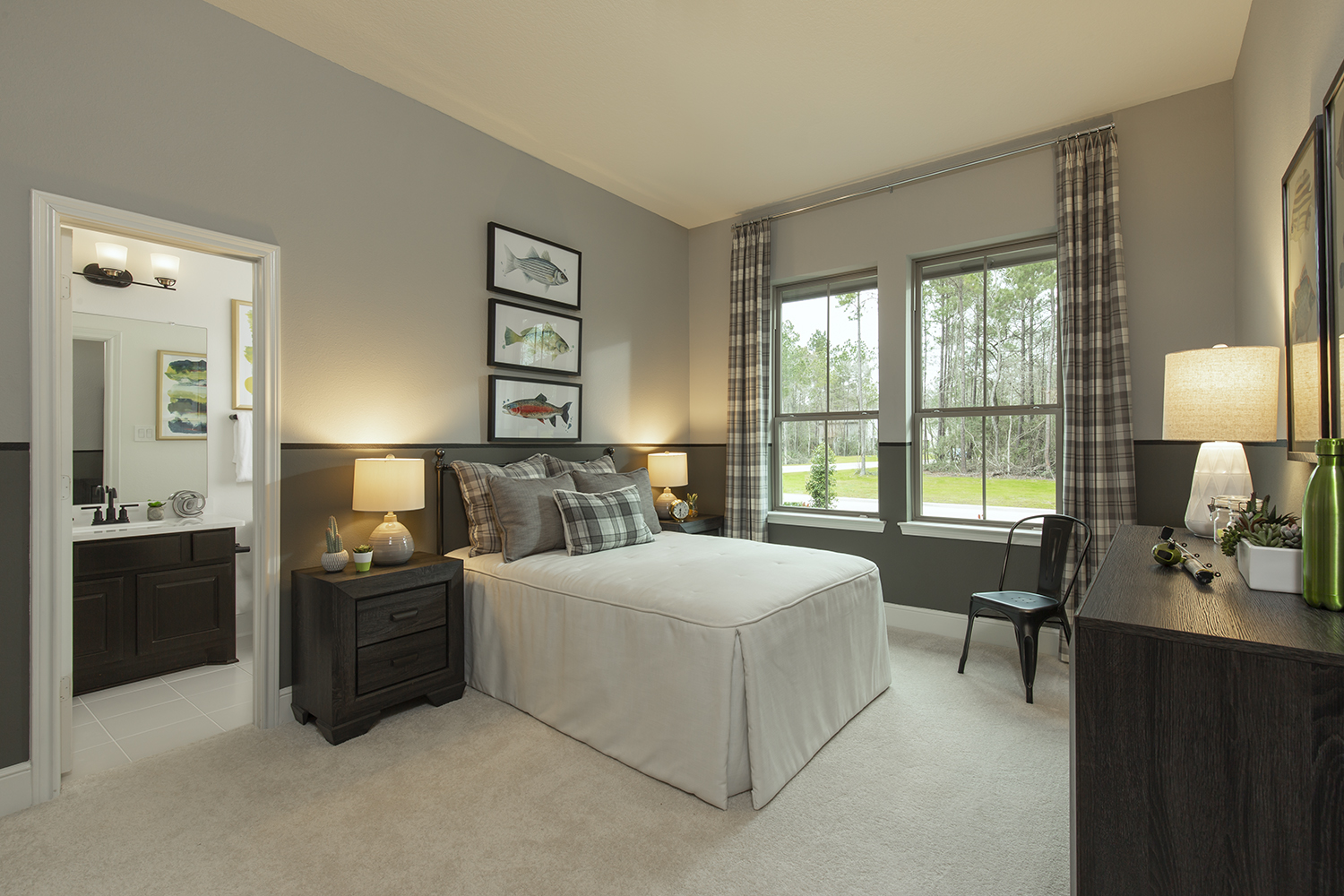 Secondary Bedroom - The Tomball (6876 Plan)