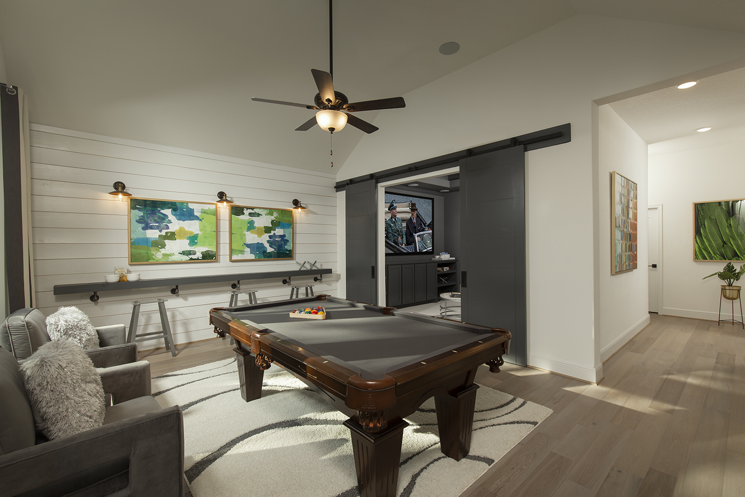 Game Room - The Tomball (6876 Plan)