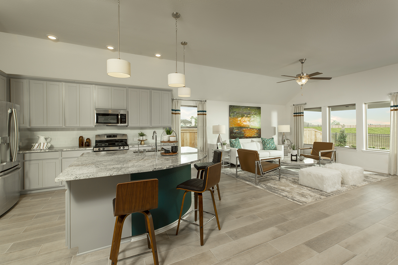 Kitchen/Family Room - The Carmine (4836 Plan)