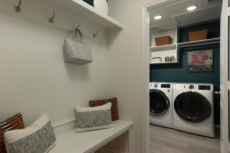 Mud Room/Laundry Room - The Carmine (4836 Plan)