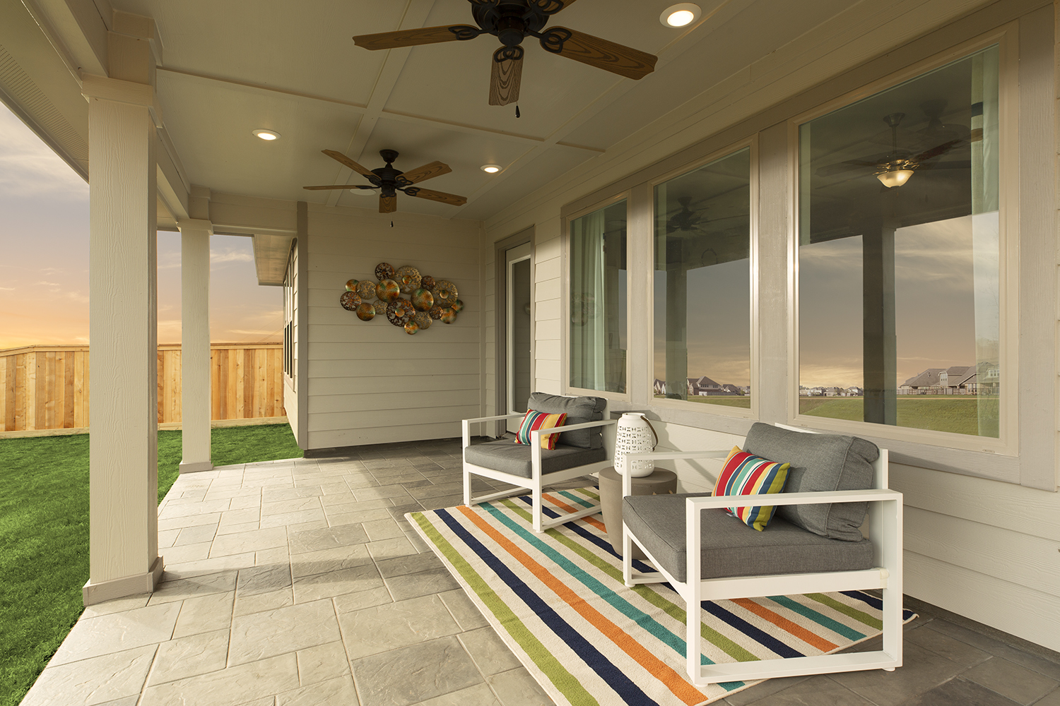 Covered Patio - The Carmine (4836 Plan)
