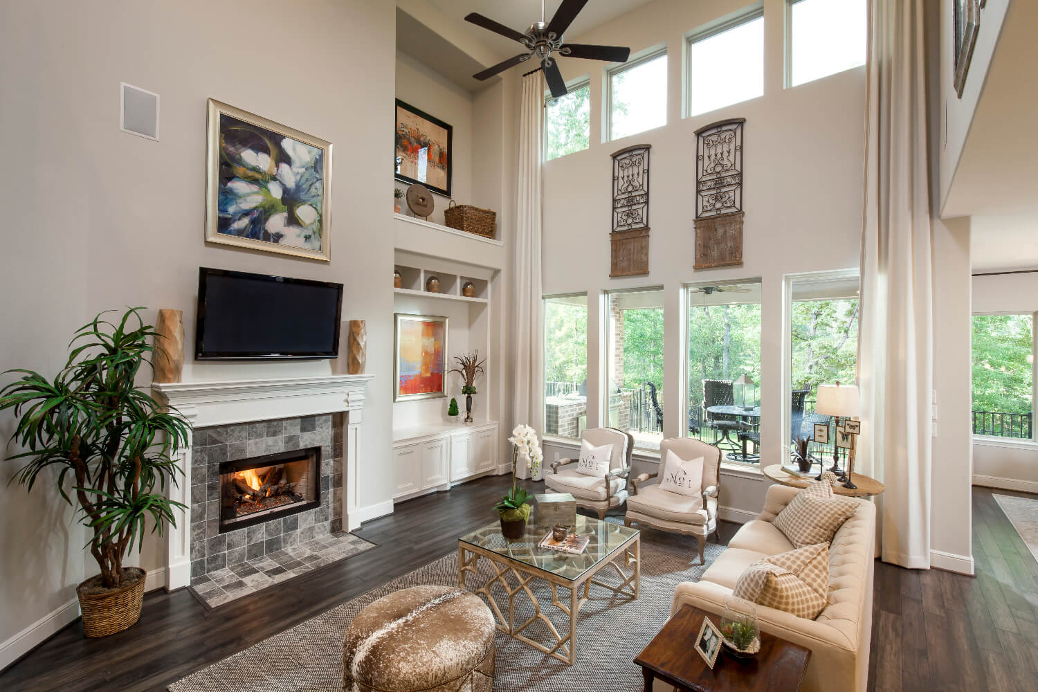 Family Room - The Anahuac (7312 Plan)
