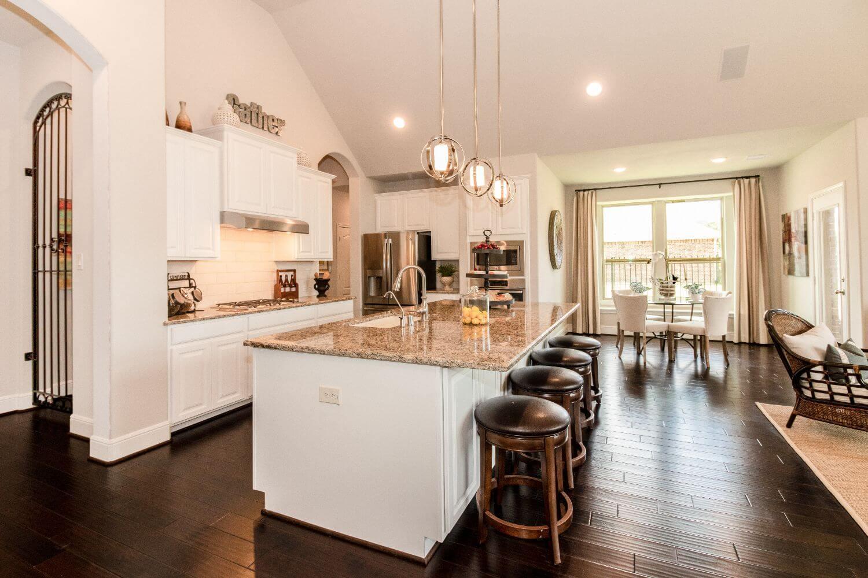 Kitchen/Breakfast Nook - The Addison (5863 Plan)