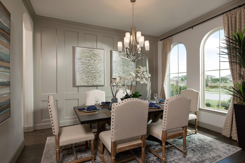 Dining Room - The Wharton IV (7297 Plan)