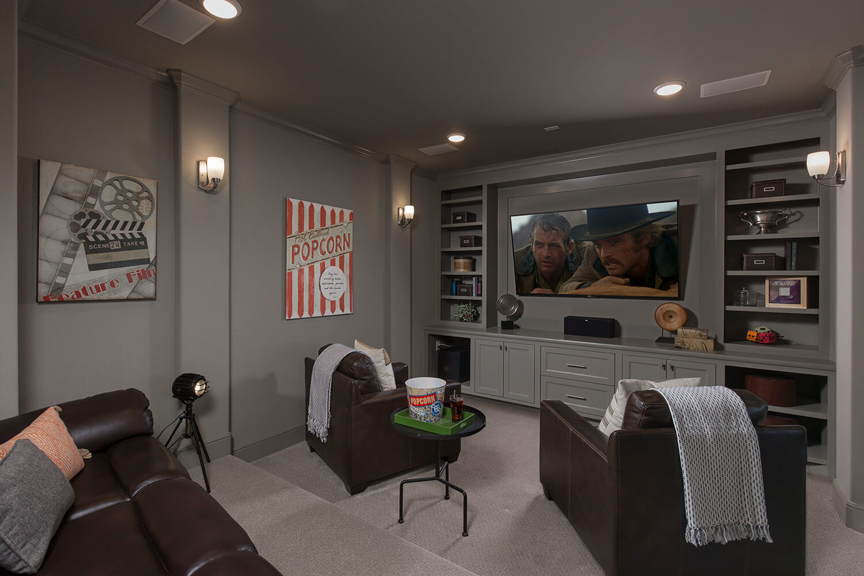 Media Room - The Wharton IV (7297 Plan)