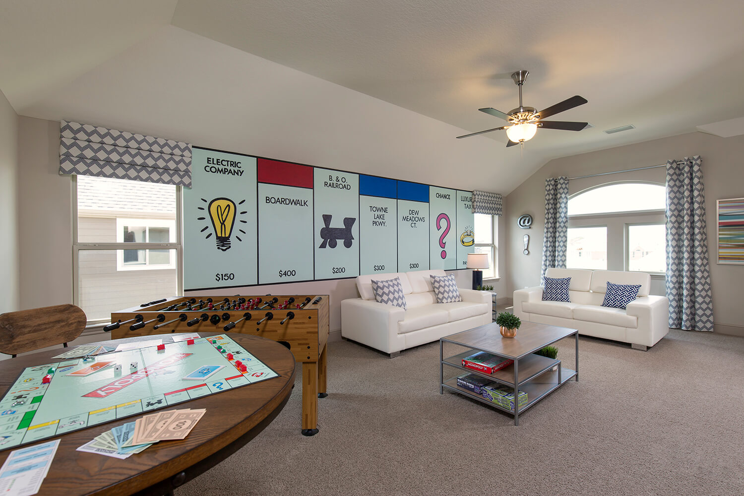 Game Room - The Jacksonville II (8310 Plan)