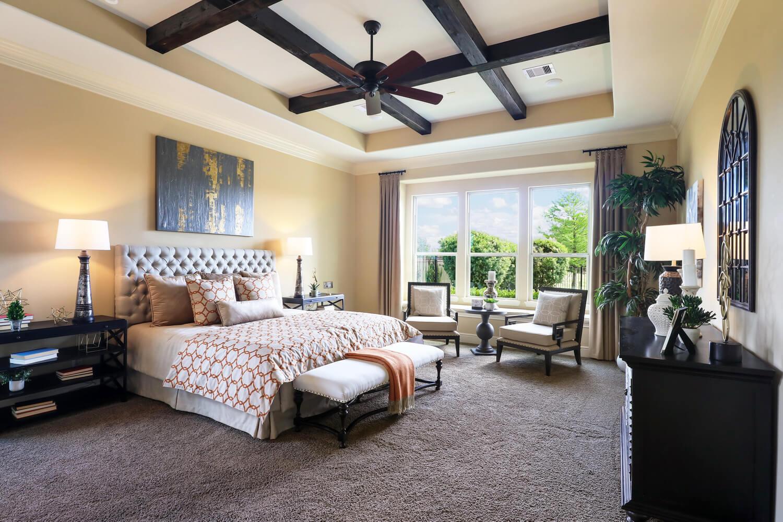 Bedroom 1 - The Wharton IV (7297 Plan)