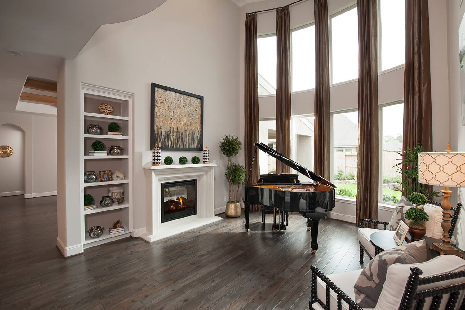 Living Room - The Katy (8264 Plan)