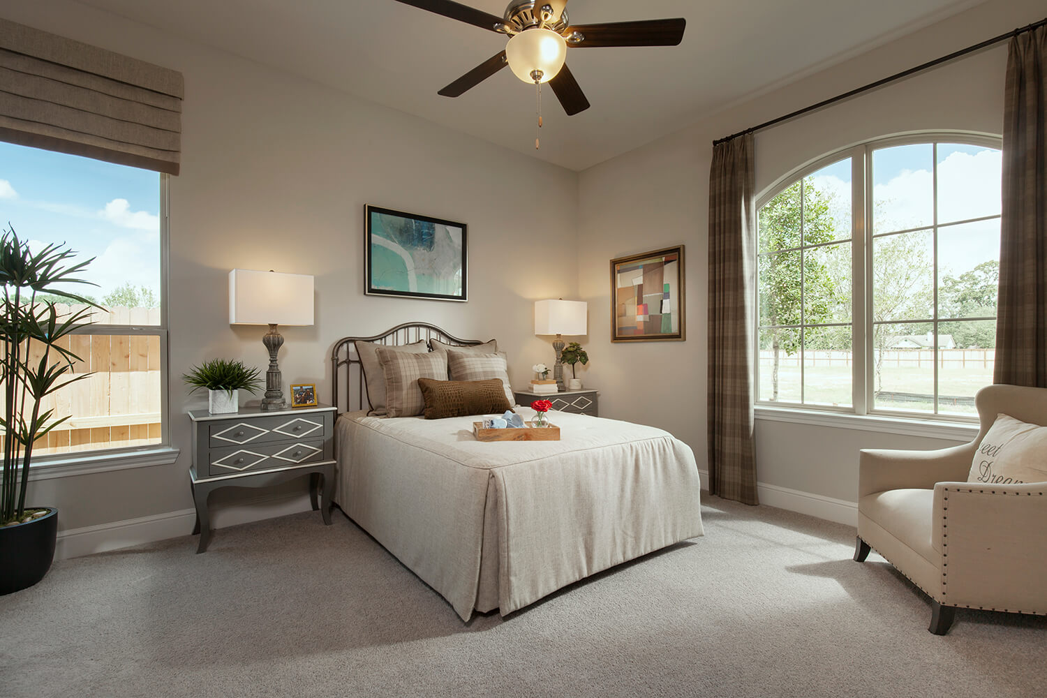 Secondary Bedroom - The Katy (8264 Plan)