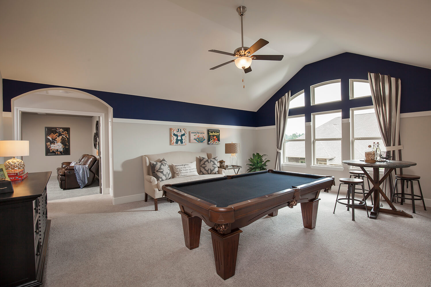 Game Room - The Katy (8264 Plan)