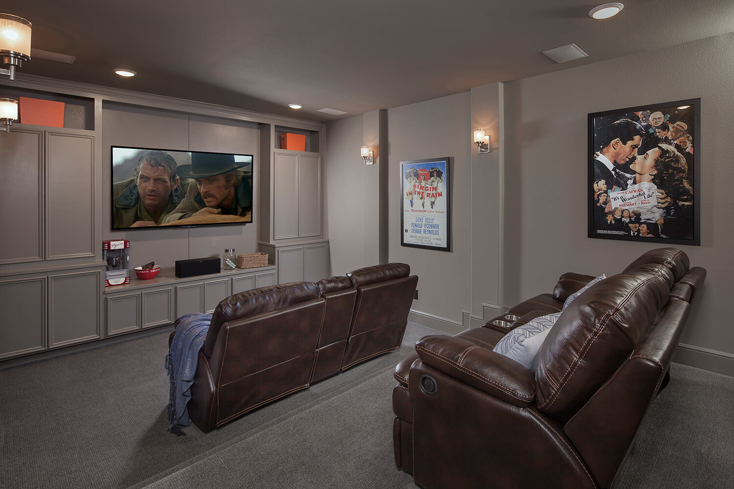 Media Room - The Katy (8264 Plan)