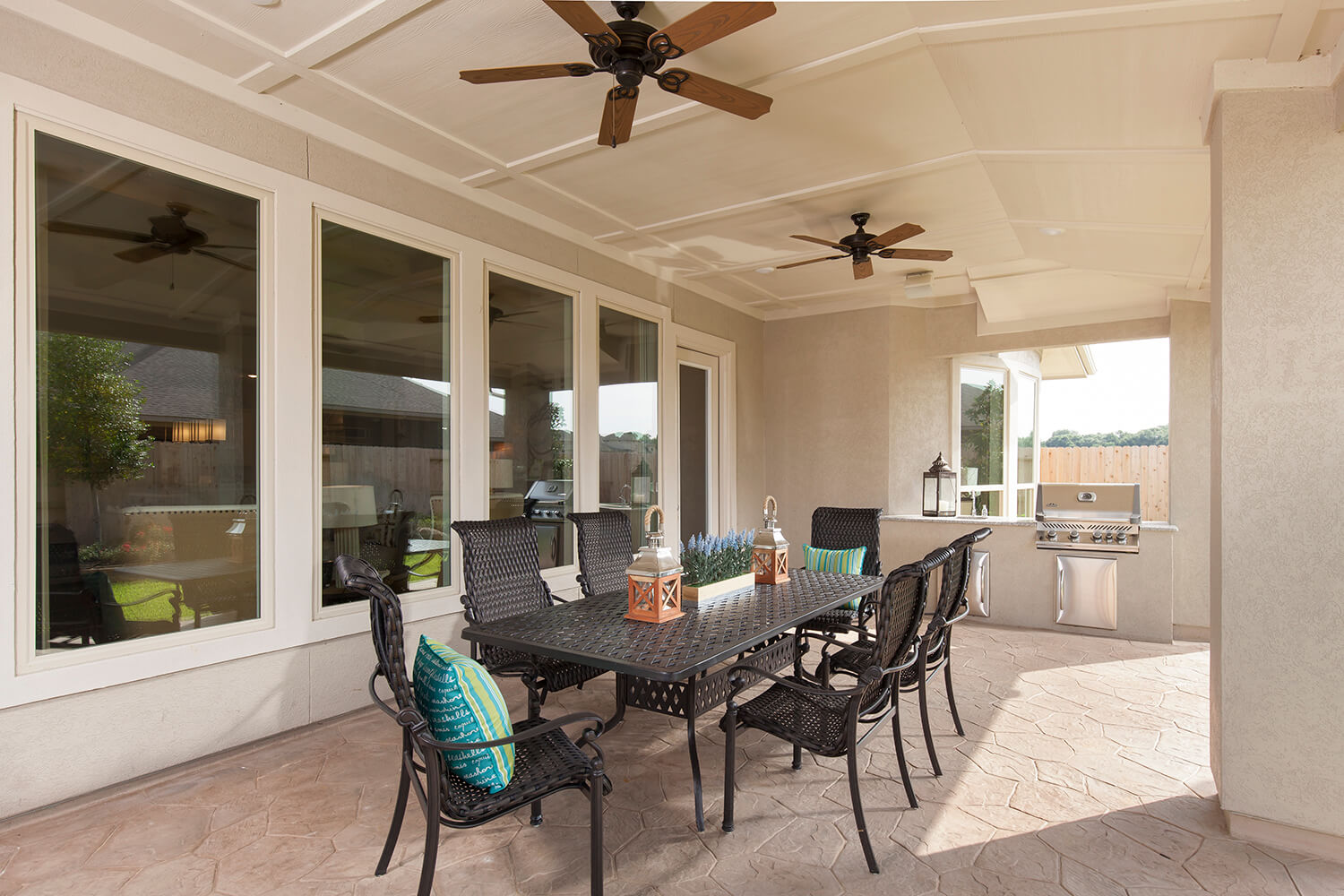 Covered Patio - The Katy (8264 Plan)