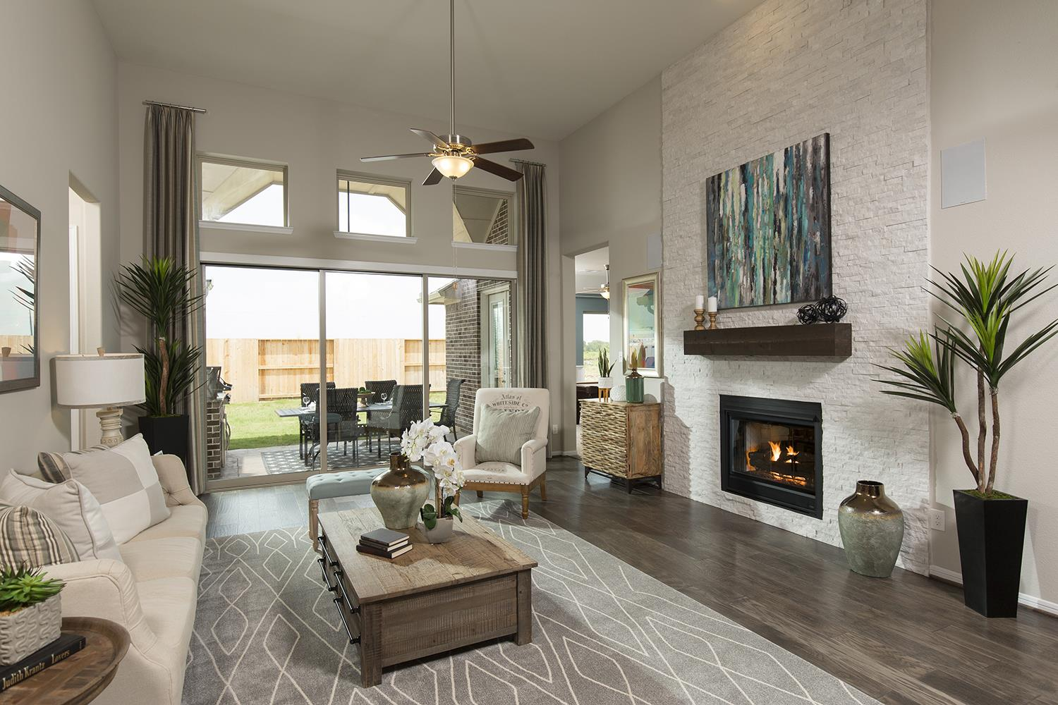 Three Beautiful New Model Homes in the Houston Area